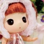 可爱小动物洋娃娃头像图片