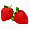草莓头像图片