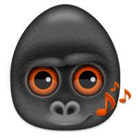 大猩猩搞笑可爱头像图片26