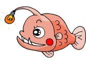可爱卡通鱼