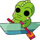 怪物可爱卡通动物头像图片15