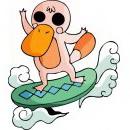 怪物可爱卡通动物头像图片23