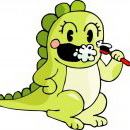 怪物可爱卡通动物头像图片29