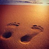 脚印脚掌痕迹头像图片14