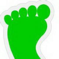 脚印脚掌痕迹头像图片20