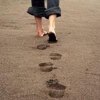 脚印脚掌痕迹头像图片31