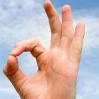 ok手势标志头像图片20