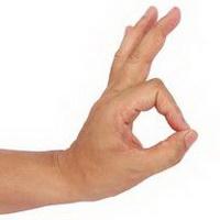 ok手势标志头像图片21