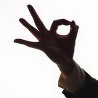 ok手势标志头像图片39
