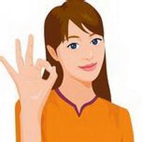ok手势标志头像图片9