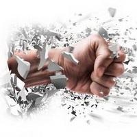 拳头手掌加油奋斗头像图片11