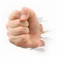 拳头手掌加油奋斗头像图片27