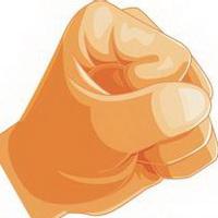 拳头手掌加油奋斗头像图片7