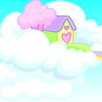 云朵七彩祥云雷暴云头像图片12