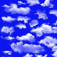 云朵七彩祥云雷暴云头像图片2