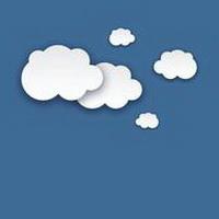云朵七彩祥云雷暴云头像图片27