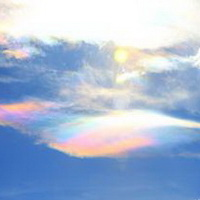 云朵七彩祥云雷暴云头像图片33