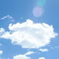 云朵七彩祥云雷暴云头像图片35