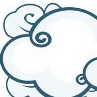云朵七彩祥云雷暴云头像图片36