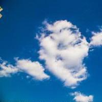 云朵七彩祥云雷暴云头像图片37