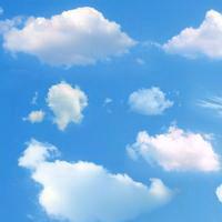 云朵七彩祥云雷暴云头像图片41