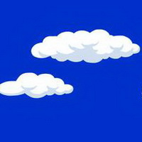 云朵七彩祥云雷暴云头像图片5