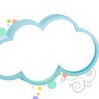 云朵七彩祥云雷暴云头像图片50