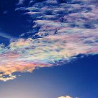 云朵七彩祥云雷暴云头像图片8