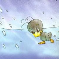 丑小鸭卡通头像图片20