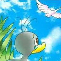 丑小鸭卡通头像图片23