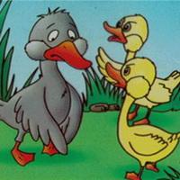 丑小鸭卡通头像图片3