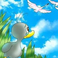 丑小鸭卡通头像图片32