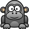 卡通大猩猩