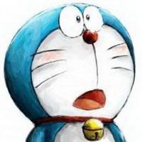 哆啦A梦可爱机器猫大雄头像图片1