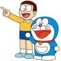 哆啦A梦可爱机器猫大雄头像图片11
