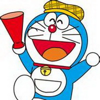 哆啦A梦可爱机器猫大雄头像图片15
