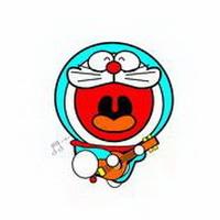 哆啦A梦可爱机器猫大雄头像图片18