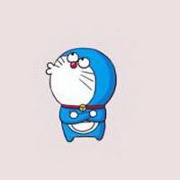哆啦A梦可爱机器猫大雄头像图片24