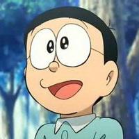 哆啦A梦可爱机器猫大雄头像图片29