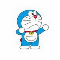 哆啦A梦可爱机器猫大雄头像图片31