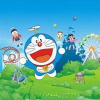 哆啦A梦可爱机器猫大雄头像图片32