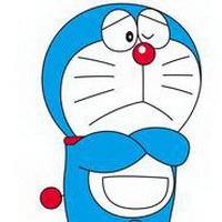 哆啦A梦可爱机器猫大雄头像图片34