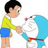 哆啦A梦可爱机器猫大雄头像图片37