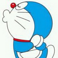 哆啦A梦可爱机器猫大雄头像图片39