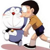 哆啦A梦可爱机器猫大雄头像图片4