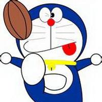 哆啦A梦可爱机器猫大雄头像图片5