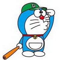 哆啦A梦可爱机器猫大雄头像图片8