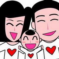全家福一家三口卡通头像图片1
