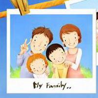 全家福一家三口卡通头像图片2