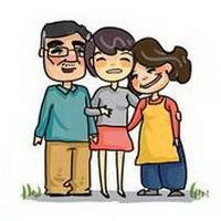 全家福一家三口卡通头像图片23